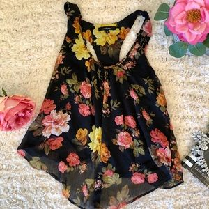 Floral Summer Tank